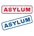 Asylum Rubber Stamps vector image vector image