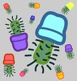 cactus seamless 2 vector image