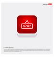 closed door sign icon vector image