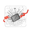 creativity kit vector image