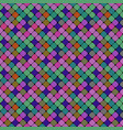 geometrical colorful seamless square pattern vector image vector image