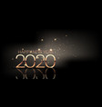 happy new year background with sparkle design vector image vector image