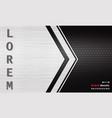 modern black dark metallic texture grid background vector image