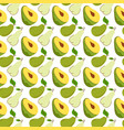 seamless wrapping paper with avocado mango pear
