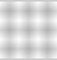 silver metallic dot pattern seamless background vector image
