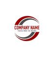 swoosh generic logo vector image