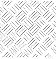 Line square geometric seamless pattern vector image