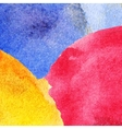 Abstract colorful watercolor background vector image vector image