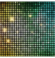 Colorful Dots Abstract Disco background vector image vector image