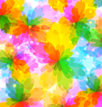 Colourful bright background vector image vector image