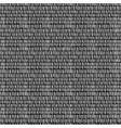 dash seamless pattern vector image vector image