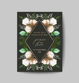 elegant merry christmas and new year 2020 card vector image vector image