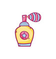 isolated perfume design vector image