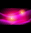 neon future glowing abstract background vector image