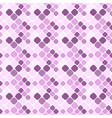 seamless abstract purple diagonal square pattern vector image vector image