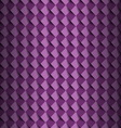 Violet square with shadow abstract background vector image