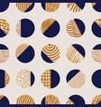 abstract elegant blue and brown circles seamless vector image