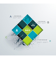 Abstract modern frame for business futuristic vector image vector image