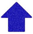 arrow up icon grunge watermark vector image vector image