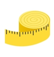 Centimeter isometric 3d icon vector image vector image