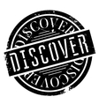 Discover rubber stamp vector image vector image