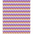 Seamless bright fun abstract horizontal pattern vector image vector image