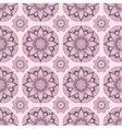 Seamless pattern from abstract mandalas vector image vector image