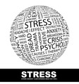 STRESS vector image vector image