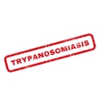 Trypanosomiasis Rubber Stamp vector image vector image
