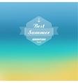 Blurred summer background vector image