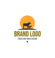 animal farm logo designs vintage logo vector image vector image