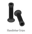 grip handlebar icon isometric 3d style vector image vector image