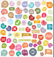 modern badges and labels collection 2 vector image vector image