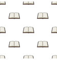 opened book icon in cartoon style isolated on vector image vector image