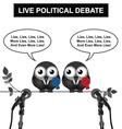 Political Debate vector image vector image