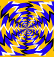 psychedelic optical spin vector image