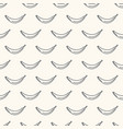 seamless geometric pattern with non-colored vector image vector image