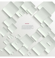 White tiles abstract background vector image