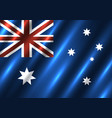 australia national flag background vector image vector image