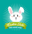 banner easter sale this week only image vector image