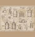 BreweryScheme vector image