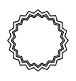 circle seal stamp icon vector image vector image