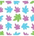 Cosmic crystals pattern vector image vector image