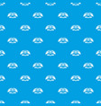 dragon wing pattern seamless blue vector image