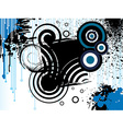 grungy abstract background vector image vector image
