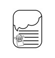 line note papers with colored pencils utensil vector image vector image