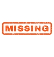 Missing Rubber Stamp vector image vector image