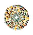 nano texture color vector image