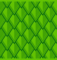 seamless geometric pattern with green rhombuses vector image vector image
