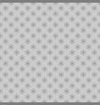 Seamless stylized snowflake pattern background vector image